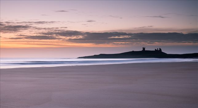 Sunrise at Embleton Bay, Northumberland - Embleton Bay is a bay on the North Sea, located to the east of the village of Embleton, Northumberland, England. It lies just to the south of Newton-by-the-Sea and north of Craster