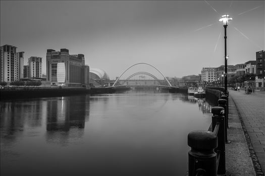 The River Tyne taken from Newcastle quayside