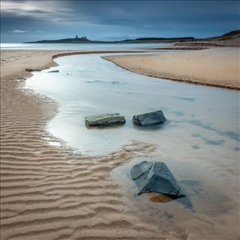 Embleton Bay, Northumberland - Taken at Embleton Bay, Northumberland with Dunstanburgh Castle in the background