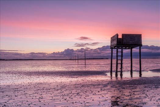 Sunrise at Holy Island - The Holy Island of Lindisfarne is a tidal island off the northeast coast of England. It is also known just as Holy Island & is now a popular destination for visitors to the area.
