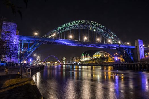 The River Tyne at night -