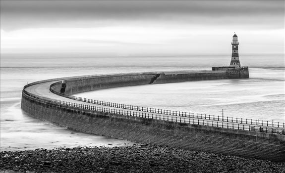 Roker Pier, Sunderland - For over a hundred years, Roker Pier & Lighthouse has protected the entrance into Sunderland's harbour with the pier, and distinctive red and grey granite hoops of the lighthouse, as one of the City's most iconic landmarks.
