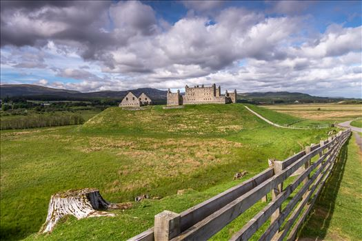 Ruthven Barracks - Ruthven Barracks, near Ruthven in Badenoch, Scotland, are the smallest but best preserved of the four barracks built in 1719 after the 1715 Jacobite rising.