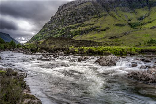 Clanhaig falls - Clanhaig falls are located in the beautiful location of Glencoe in the Scottish Highlands.