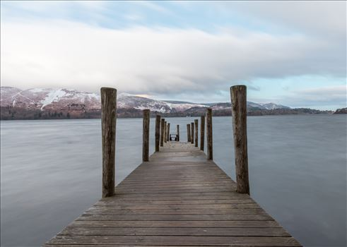 This beautiful jetty sits on the eastern shore of Lake Derwentwater, nr Keswick