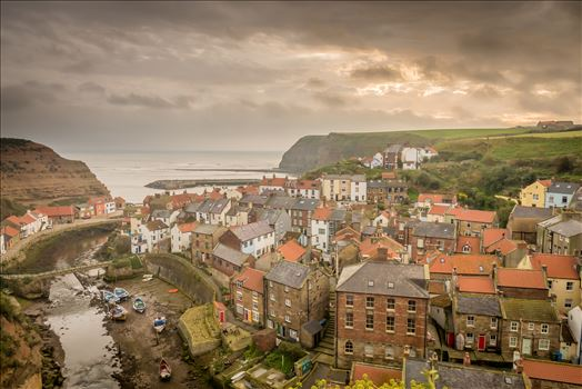 Staithes - With its higgledy-piggledy cottages and winding streets, Staithes has the air of a place lost in time & was once one of the largest fishing ports on the North East coast.