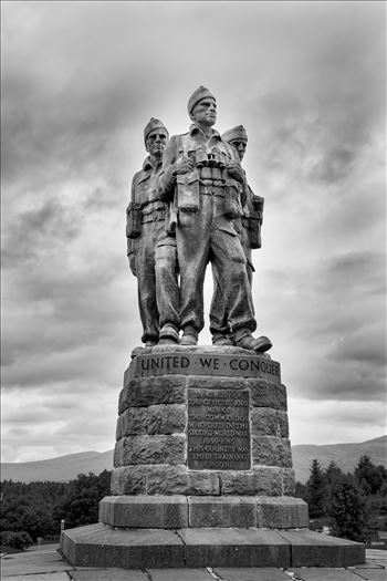 Commando memorial - The Commando Memorial is a Category A listed monument in Scotland, dedicated to the men of the original British Commando Forces raised during World War II. Situated around a mile from Spean Bridge village
